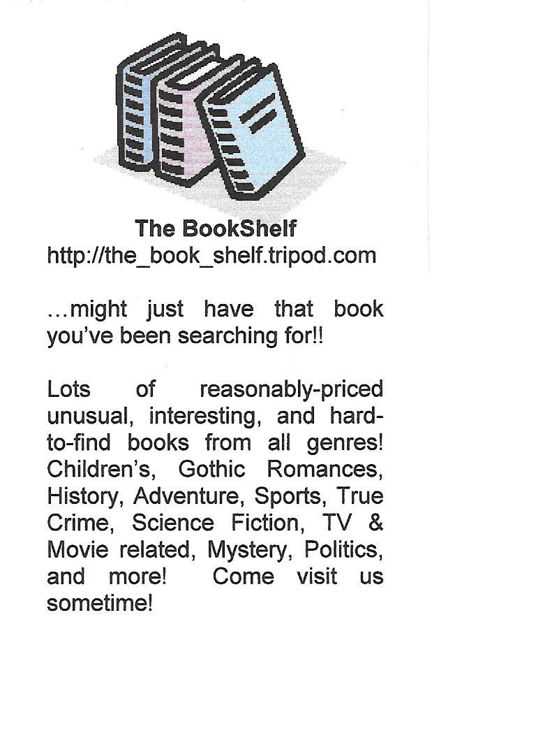 The Book Shelf ad