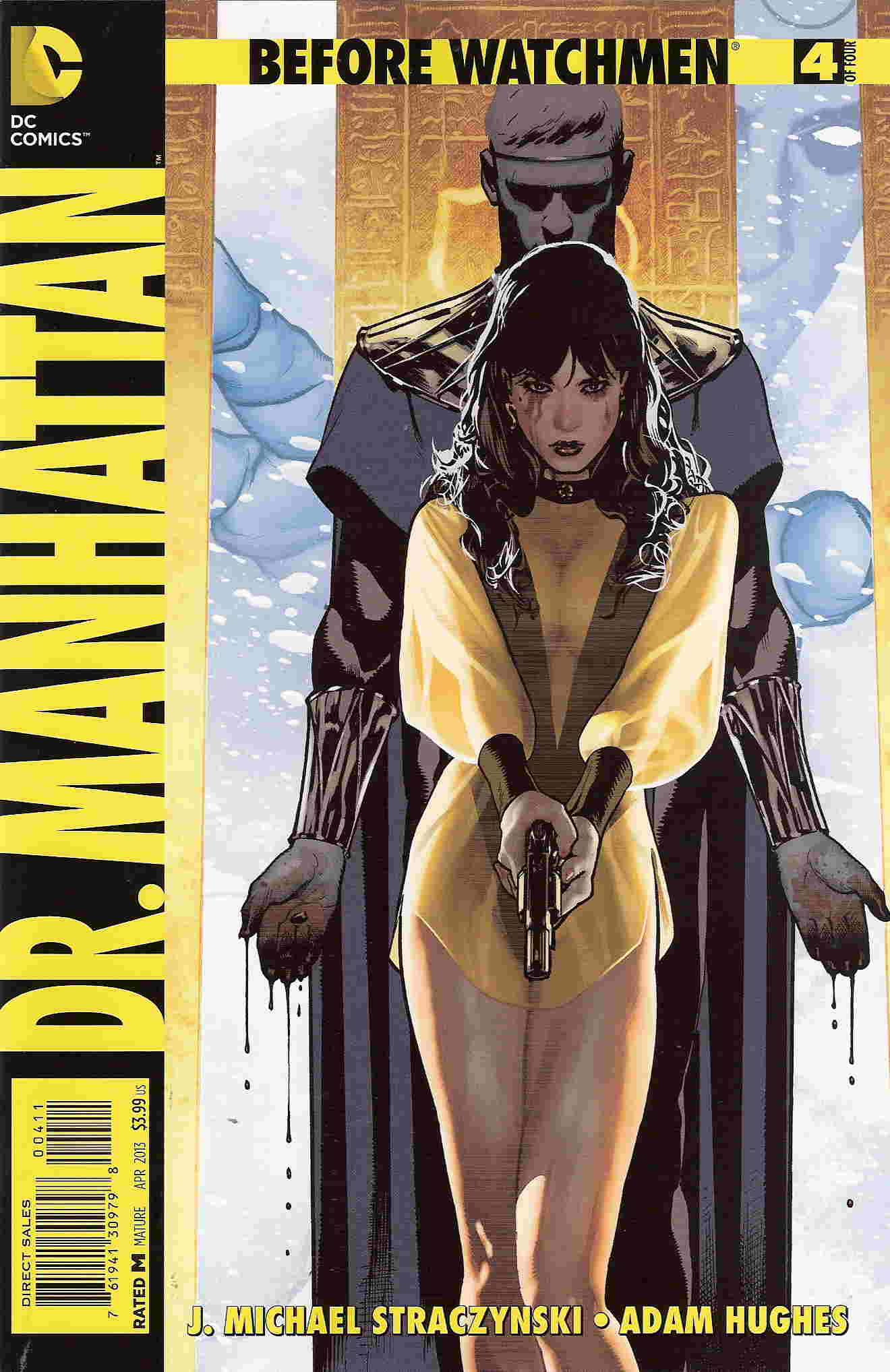 Before Watchmen Dr Manhattan 4 cover