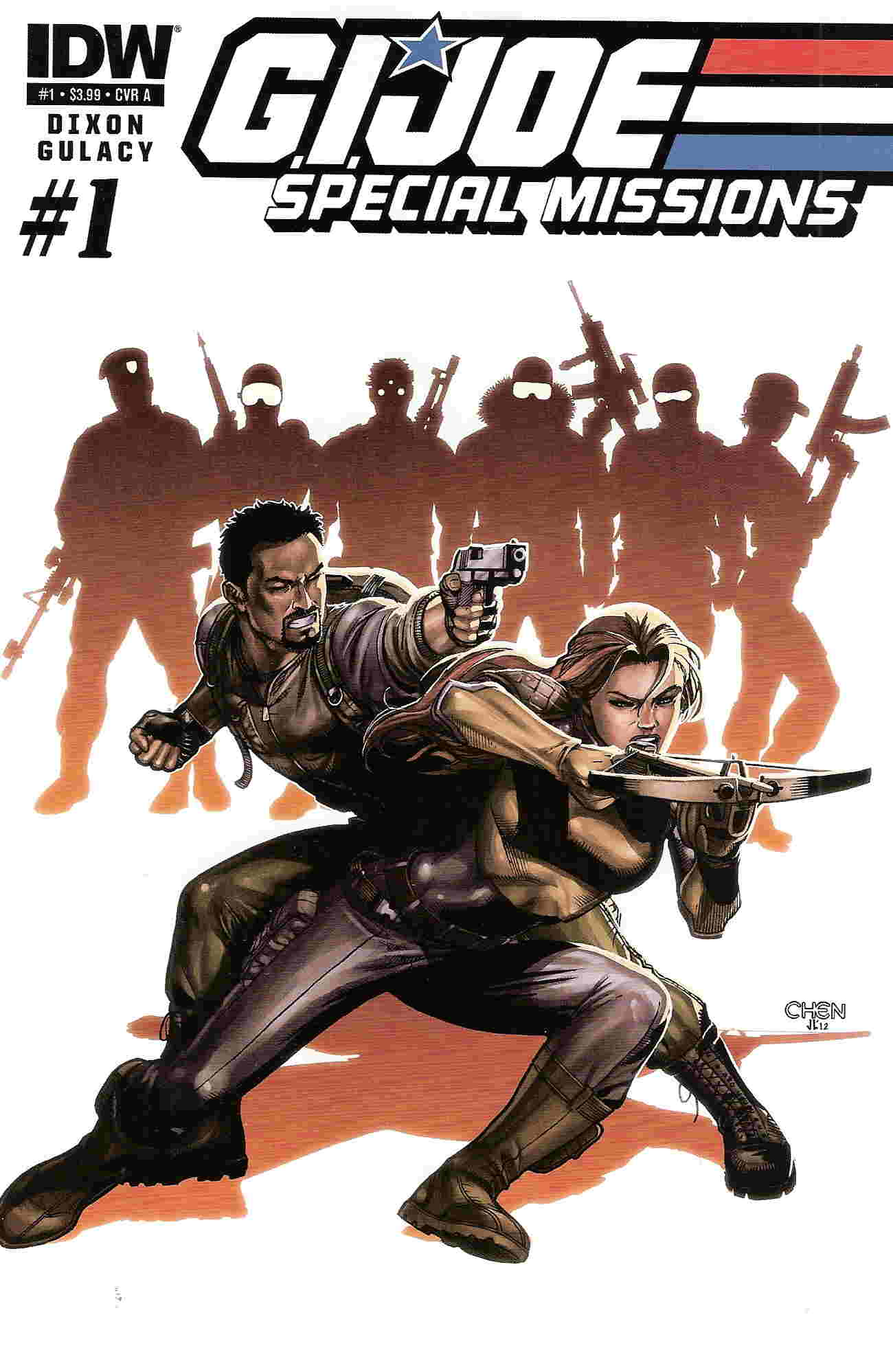 GI Joe Special Missions 1 cover